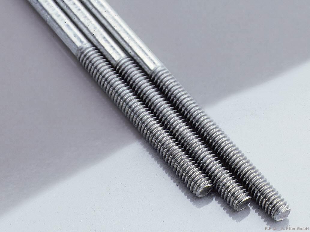 Gewindestange Stahl M 3x200 mm (1 Stück)