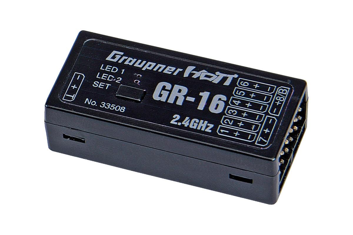 Graupner GR-16 HoTT - 2.4 GHz Empfänger