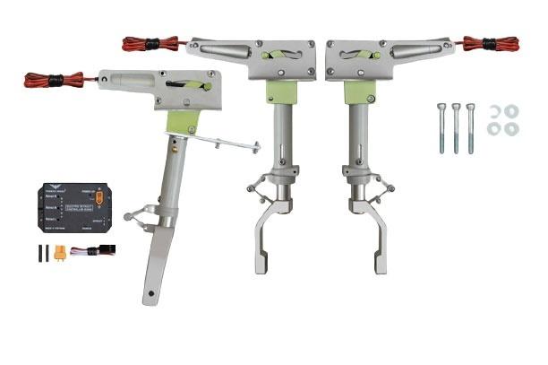Phoenix elektrisches Einziehfahrwerk 3-Bein bis 15kg -