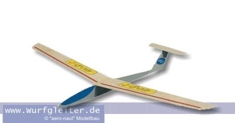 Aeronaut AERO-SPATZ Balsa Wurfgleiter