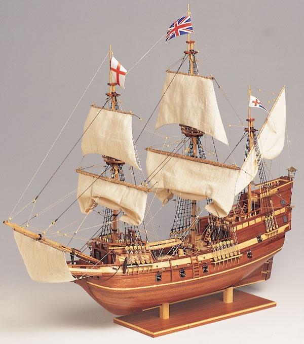 Krick Mayflower Baukasten Schiff