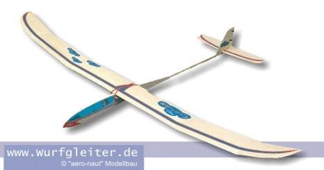 Aeronaut CUMULUS Balsa Wurfgleiter