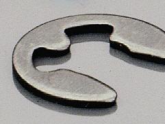 Sicherungsscheibe Stahl 2,5 mm (10-er Packung)