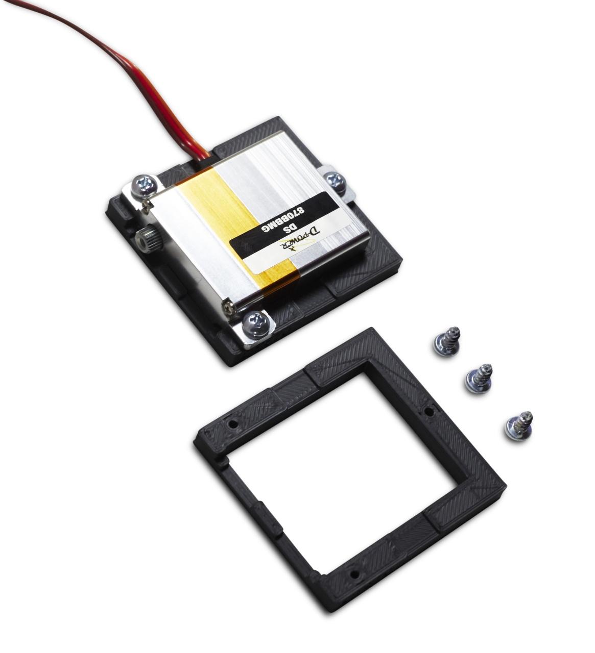 D-Power Servorahmen für Servo DS-870BBMG