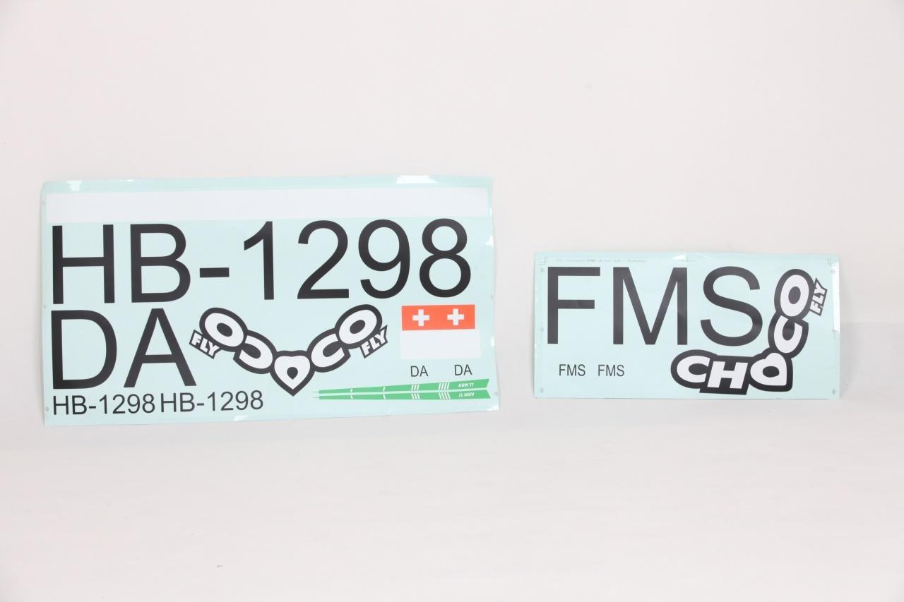 FMS ASW-17 - Dekorbogen