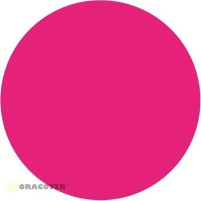 ORACOVER Bügelfolie fluoreszierend pink