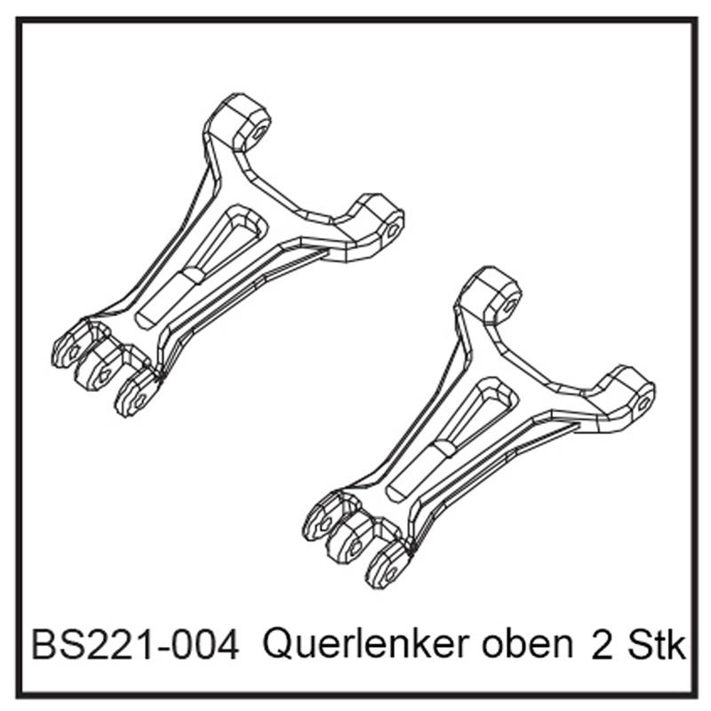 Querlenker oben (2 Stück) - BEAST BX / TX