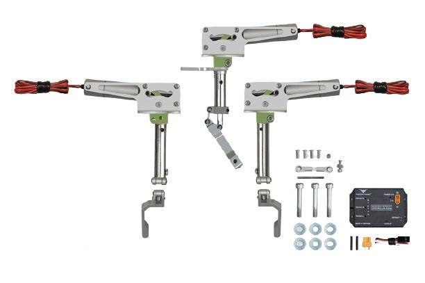 Phoenix elektrisches Einziehfahrwerk 3-Bein bis 5kg -