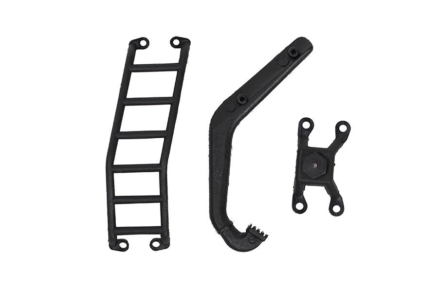 1:18 Leiter und Ersatzradhalterung