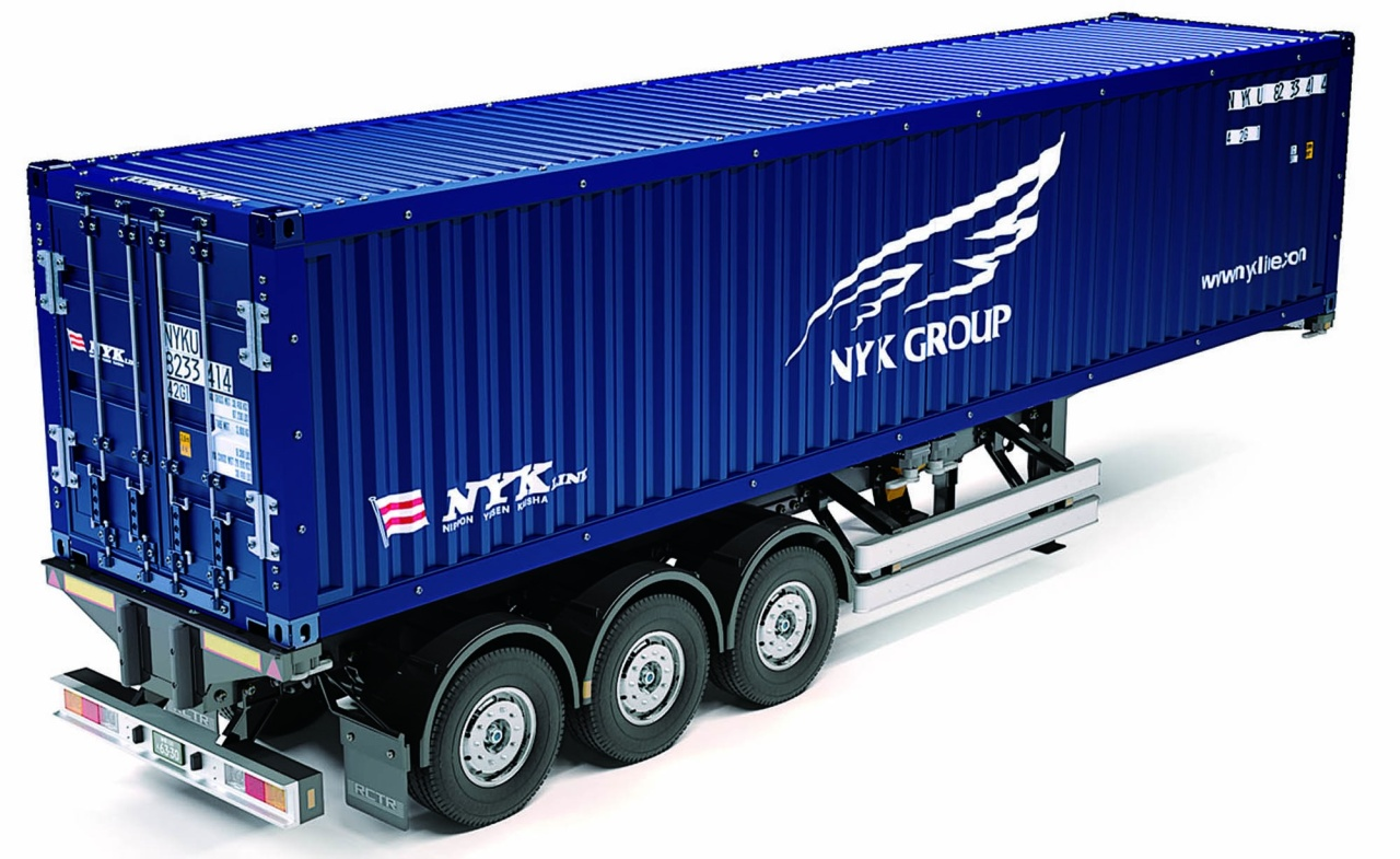 Tamiya 1:14 RC 40ft.Container Auflieger NYK
