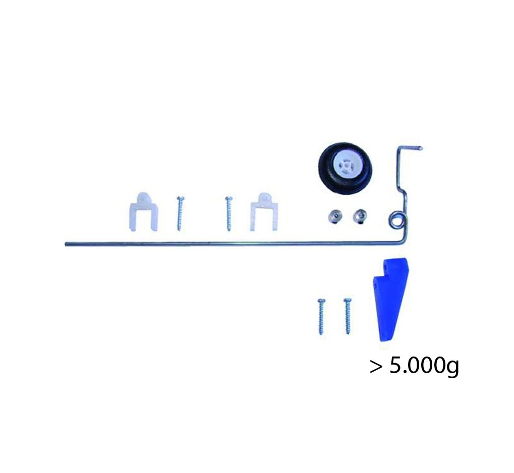 Heckfahrwerk lang - für Modelle bis 5000g