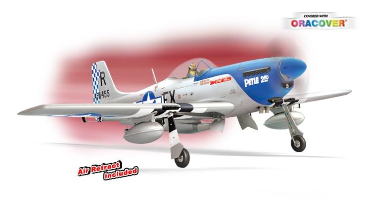 Phoenix P51 MUSTANG - 50ccm - 219 cm