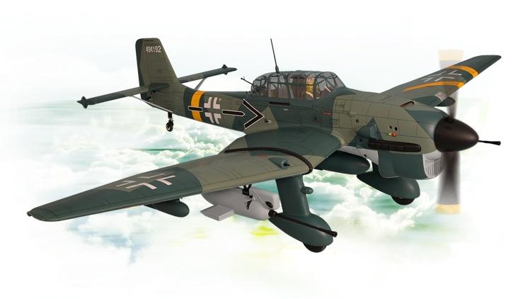 Phoenix Stuka Ju87 60cc - 240 cm