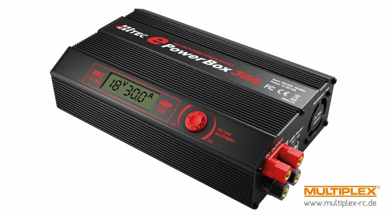 HiTEC Netzteil ePowerBox 30A