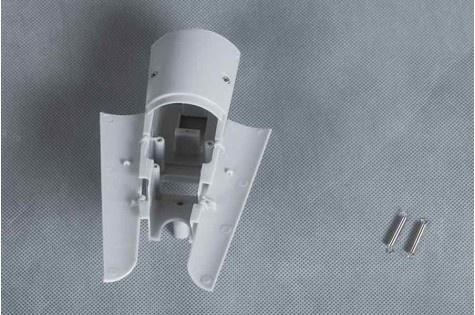 FMS P-40B - Fahrwerksabdeckung Heckfahrwerk
