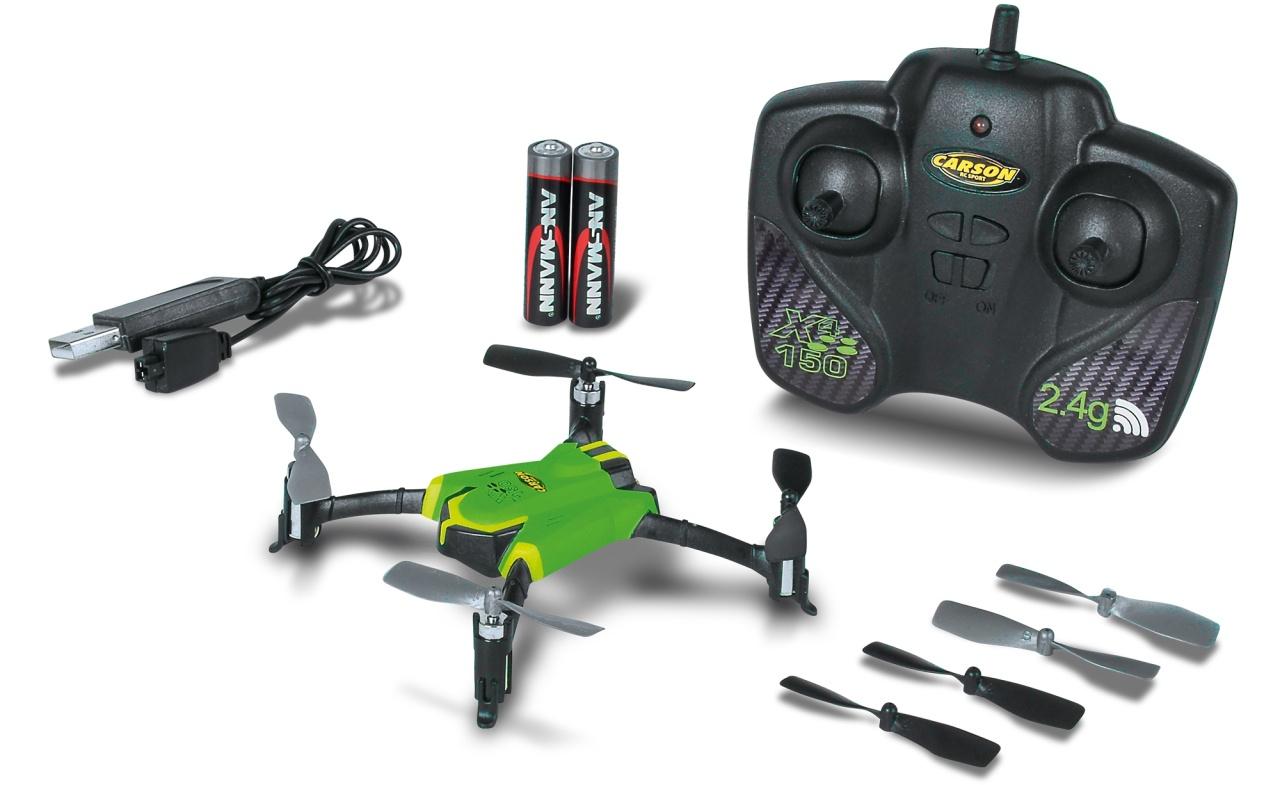 Carson X4 Quadcopter 150 Sport 2,4 GHz 100% RTF