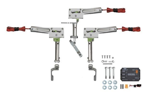 Phoenix elektrisches Einziehfahrwerk 3-Bein bis 7kg -