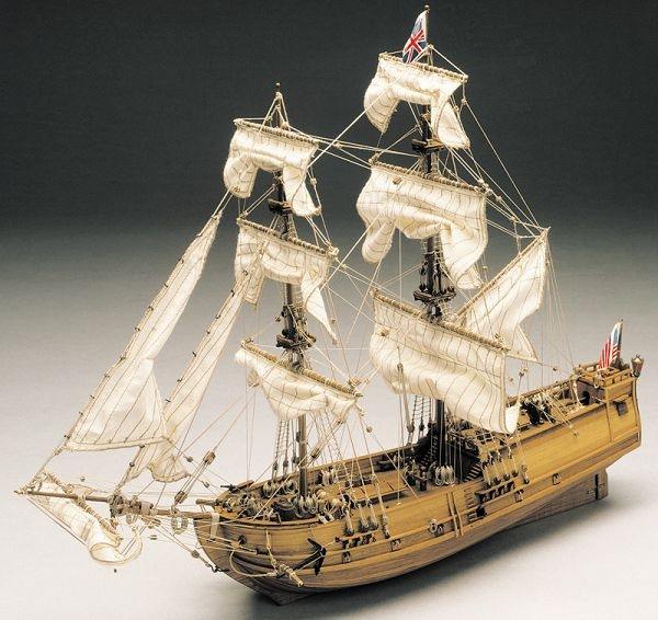 Krick Golden Star Baukasten Schiff