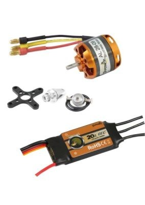 D-Power Brushless Set AL28-09 & 20A Comet Regler