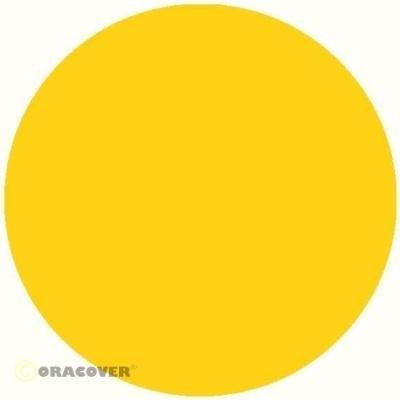ORACOVER Bügelfolie transparent gelb