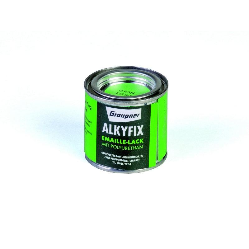 Graupner Alkyfix Emaillelack grün 100ml