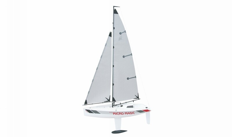 Graupner Segelboot Racing Micro Magic Tuningversion, Bausatz