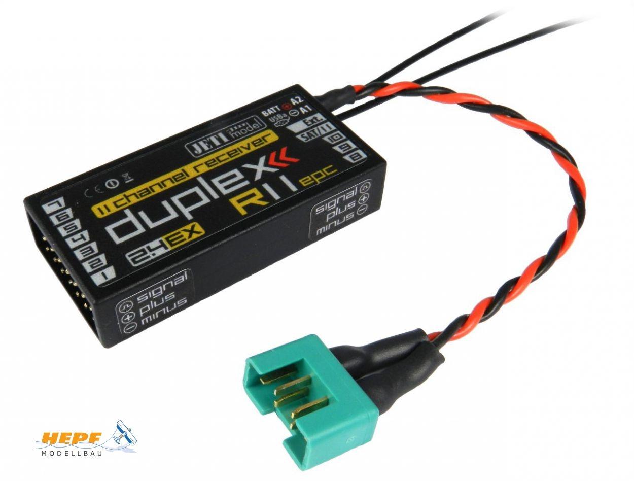 Jeti Empfänger Duplex 2.4EX R11 EPC 2,4GHz