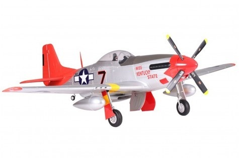 FMS P-51 Mustang Red Tail PNP - 170 cm - Combo incl. Reflex