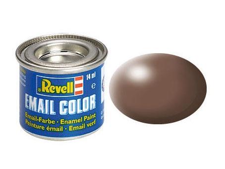 Revell Email Color Braun, seidenmatt, 14ml, RAL 8025