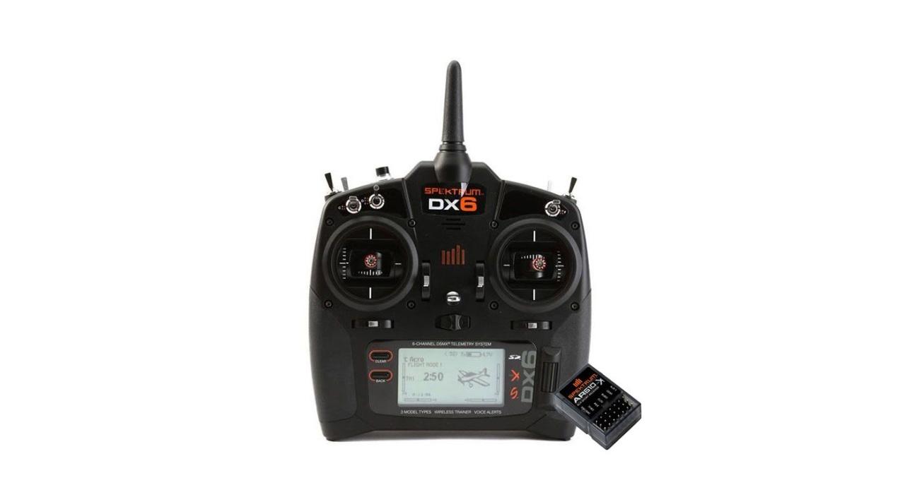 Spektrum DX6 Transmitter Only Mode 2 EU + AR610