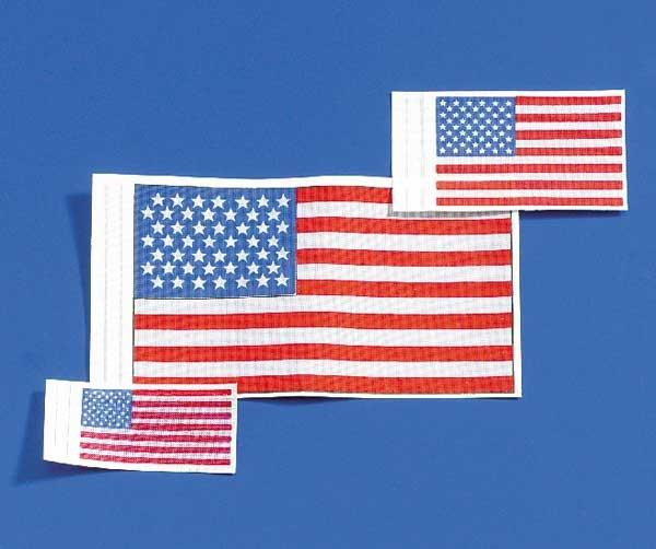 Krick Flagge USA 30x45 mm 2 Stück