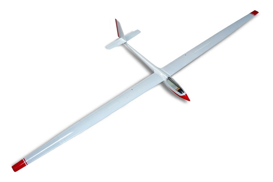 D-Power ASW-17 - 500cm Scale Segler voll-GFK ARF+