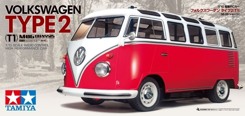 Tamiya 1:10 RC VW Bus Type 2 (M-06)