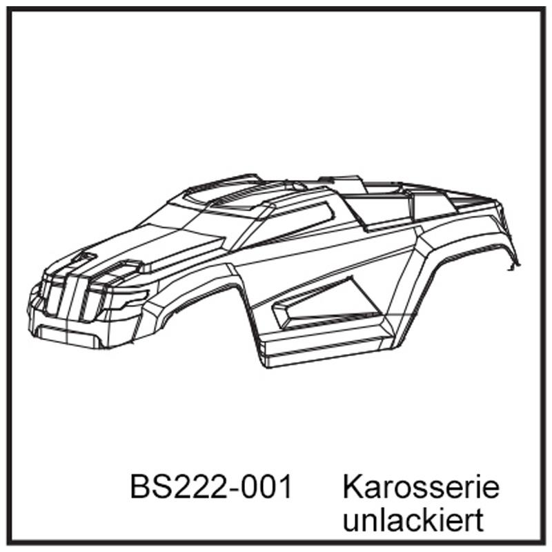 Karosserie - BEAST TX