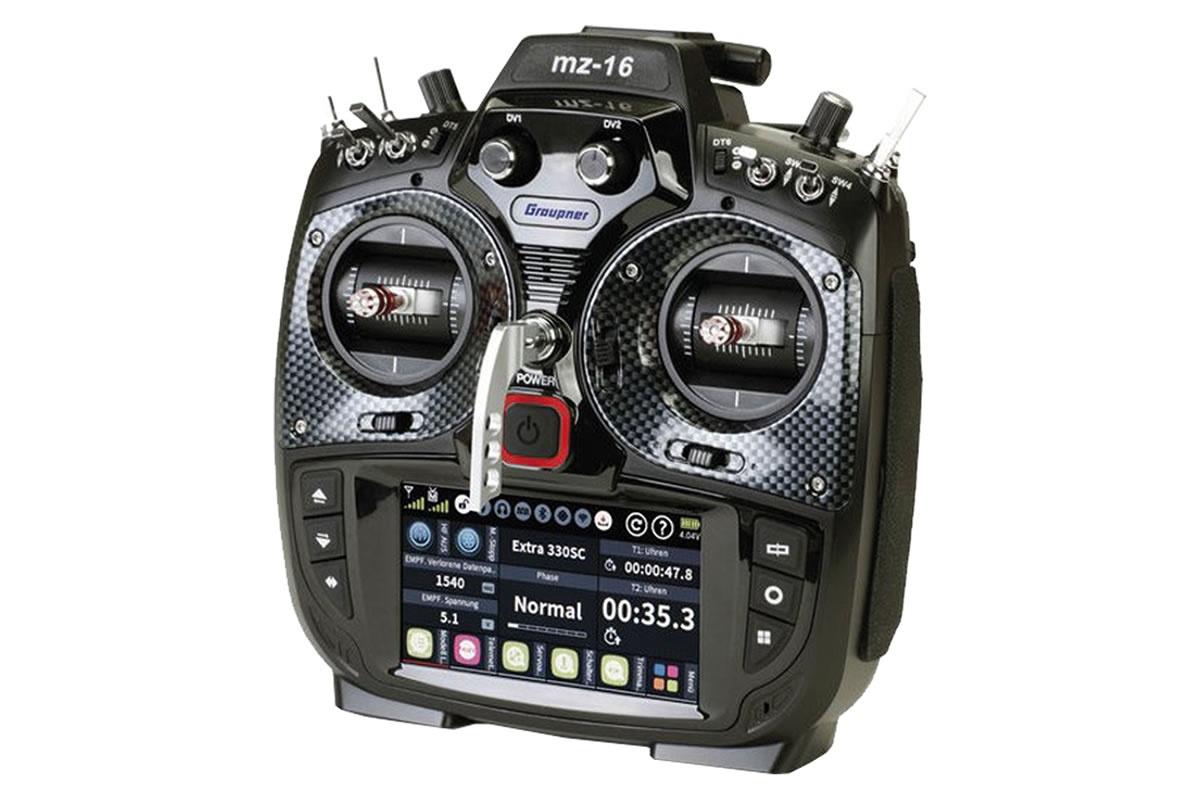 Graupner mz-16 Sender - HoTT 2.4GHz Fernsteuerung