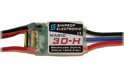 Magic 30-H Brushless Regler - Simprop
