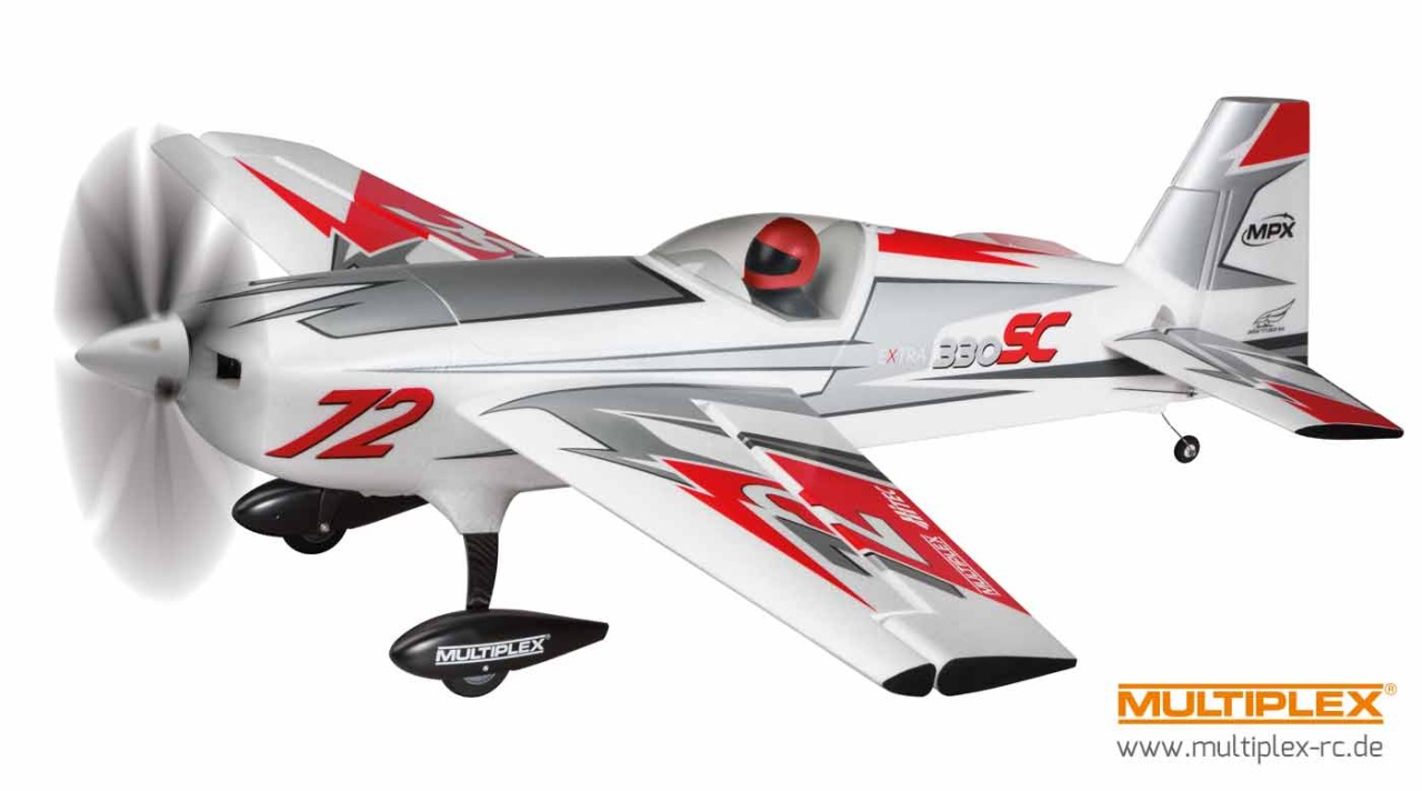 RR Extra 330 SC silver-red
