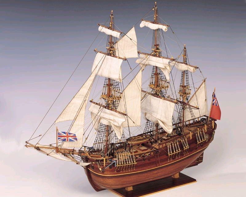 Krick Endeavour 1:60 Baukasten Schiff