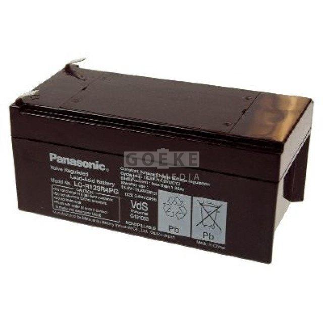 Panasonic Bleibatterie 12 Volt 3400 mAh