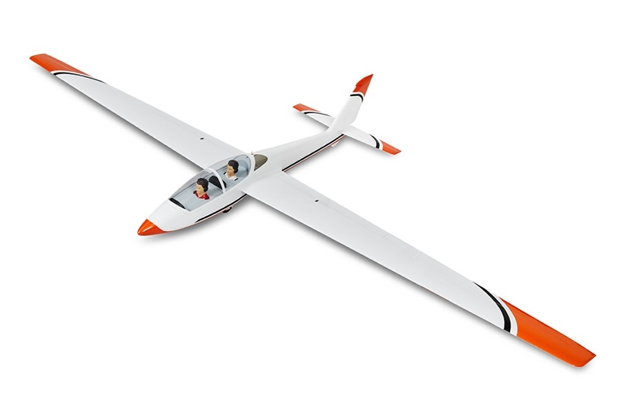 D-Power FOX - 215 cm Scale Segler voll-GFK ARF+