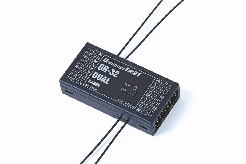 Graupner Empfänger GR-32 HoTT2.4 GHz Dual 16 Kanal