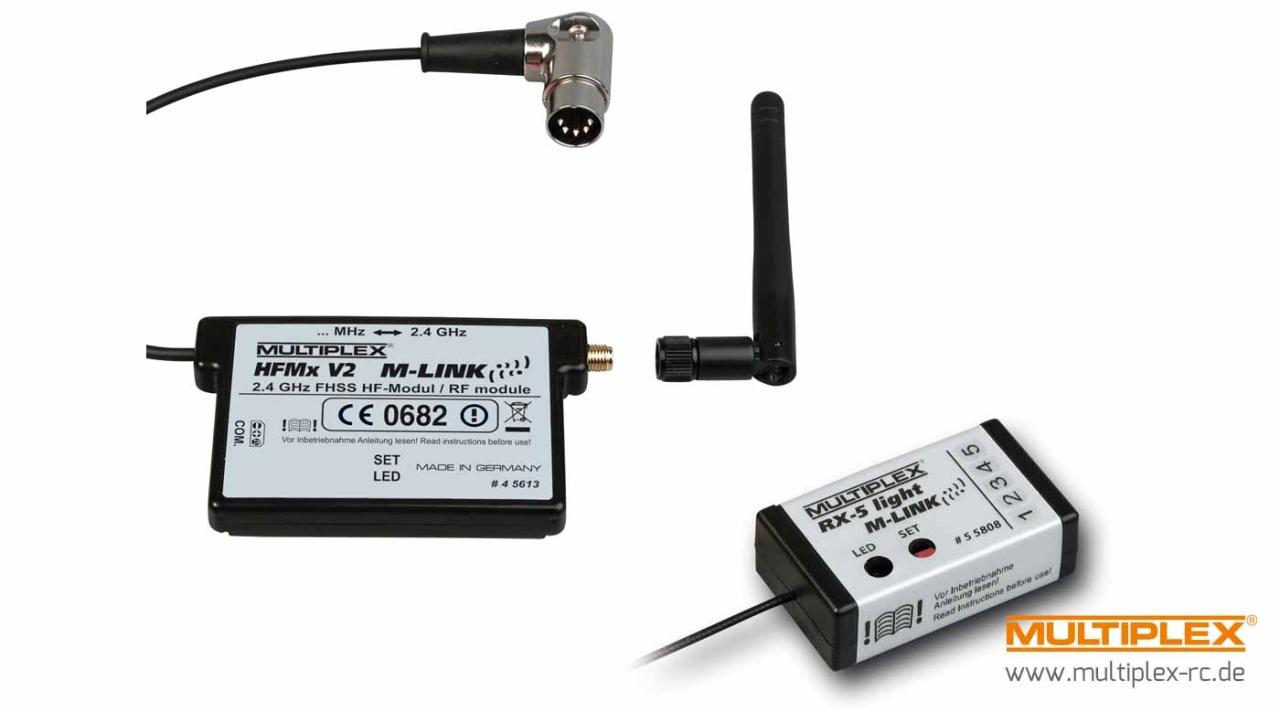 Multiplex Combo HFMx V2 M-LINK mit RX-5 light M-LINK