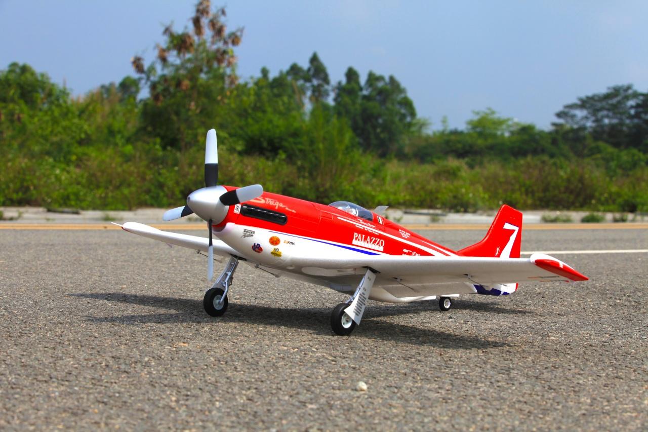 FMS P-51 Strega PNP - 107 cm