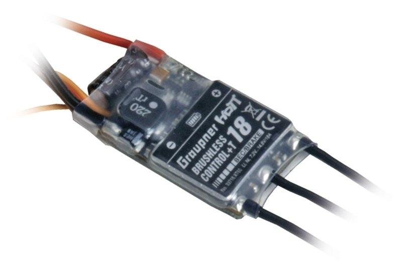Graupner BRUSHLESS CONTROL + T18 BEC