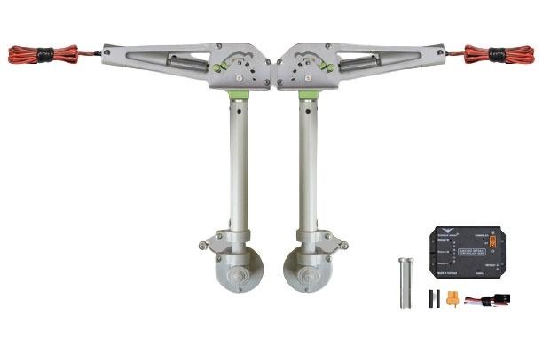 Phoenix elektrisches Einziehfahrwerk 2-Bein 90° bis 7kg -