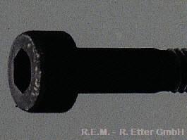 Innensechskant Schraube Stahl M 4x25 (10-er Packung)