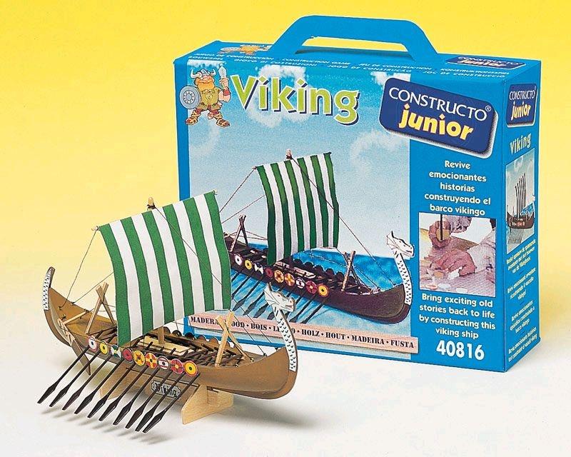 Krick Vikinger-Schiff Junior-Bausatz