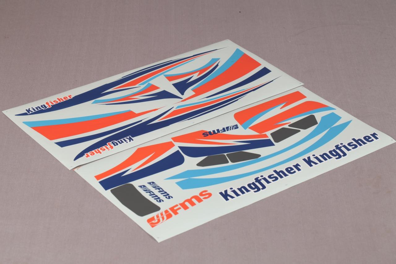 FMS Kingfisher - Aufkleber