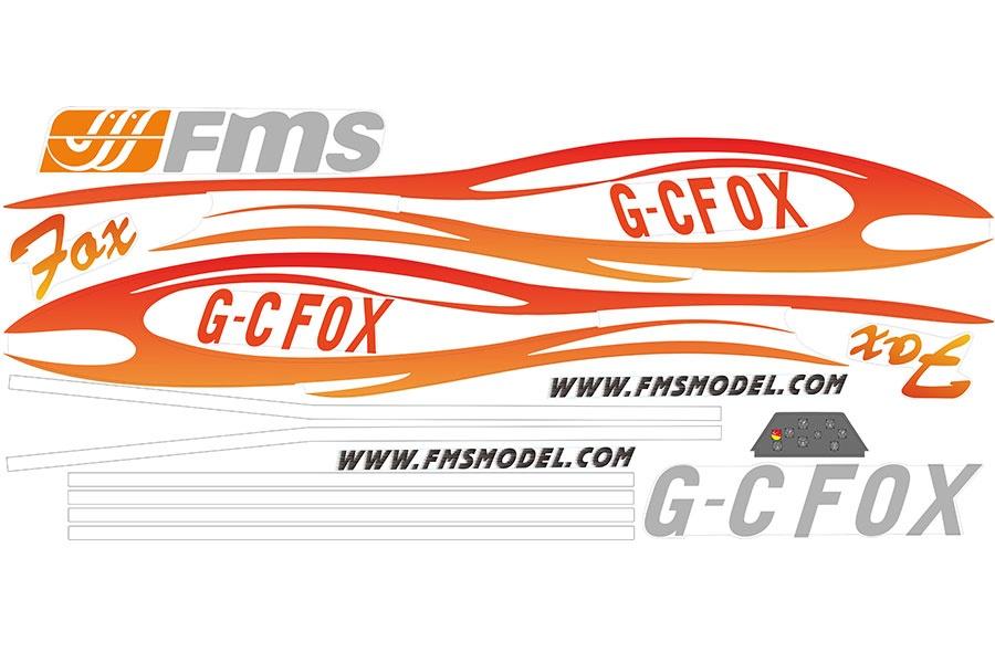 FMS FOX V2 232cm -  Dekorboge