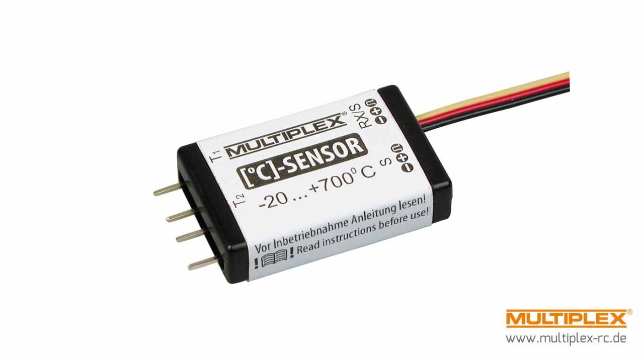 Multiplex Temperatur-Sensor für M-LINK-Empfänger
